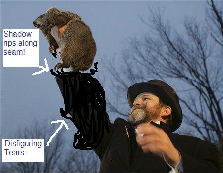 Shadow groundhog
