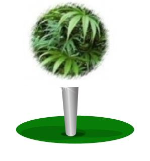 Hemp golf ball