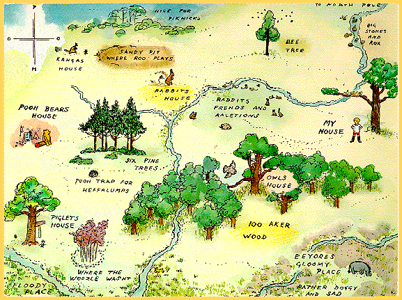 HundredAcreWood map