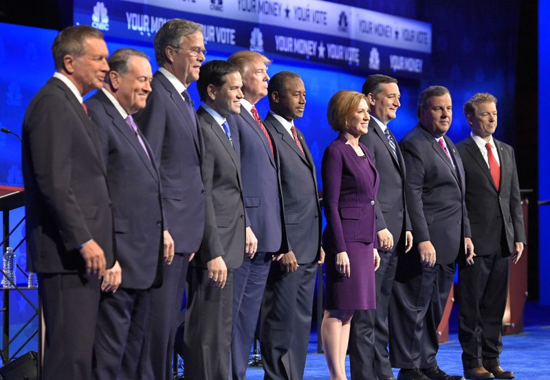Republican candidates debate